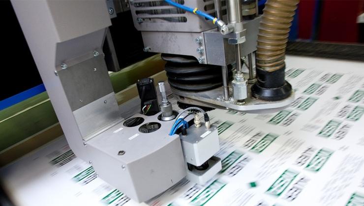 Découpe numérique sur matières plastiques
