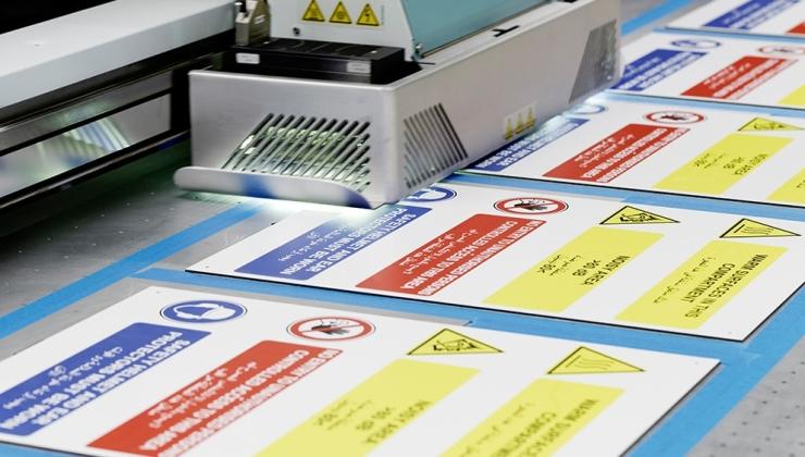 Impression numérique sur plaque en PVC