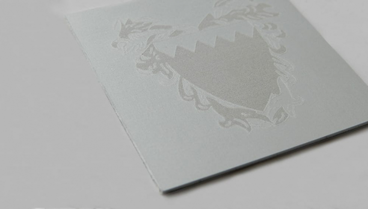 Aluminium gravé en laser