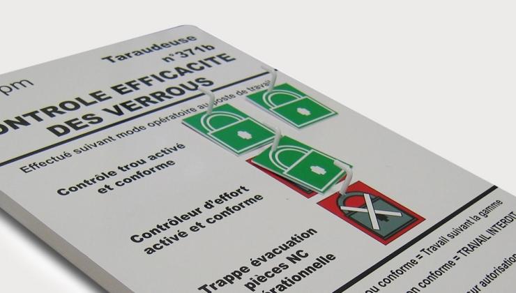Impression numérique sur plaque en PVC épaisse