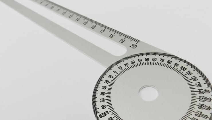 Outil de mesure personnalisé gravé sur métal
