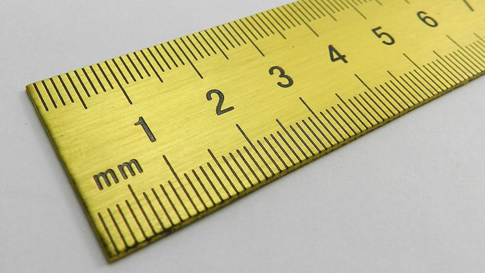 Outils De Mesure: Réglet Inox: Réglets Personnalisables Avec