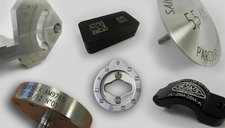 Gravure laser sur métal : aluminium naturel, aluminium peint et inox