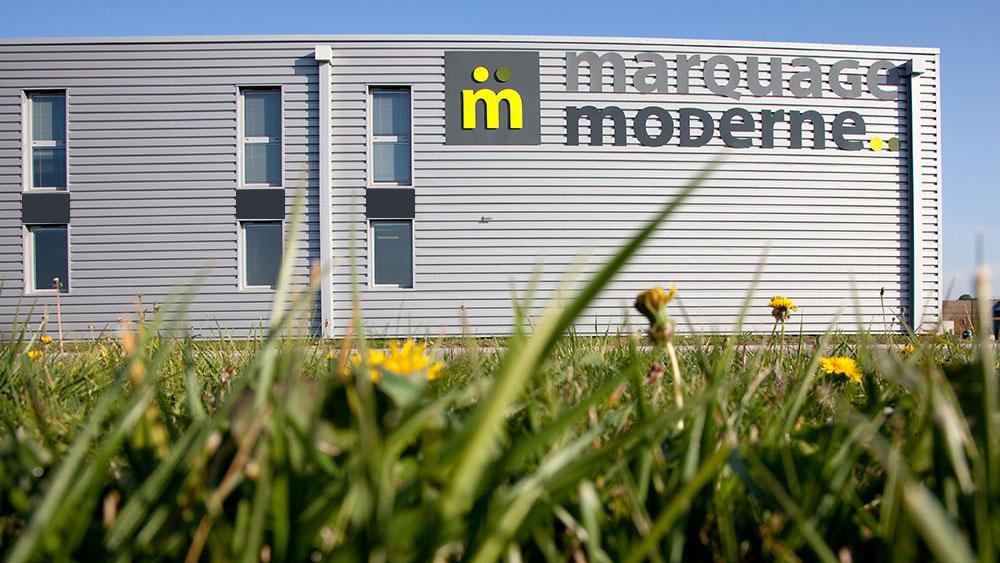 Les valeurs de Marquage Moderne : l'exigence, la réactivité, l'innovation, l'engagement pour le respect de l'environnement.