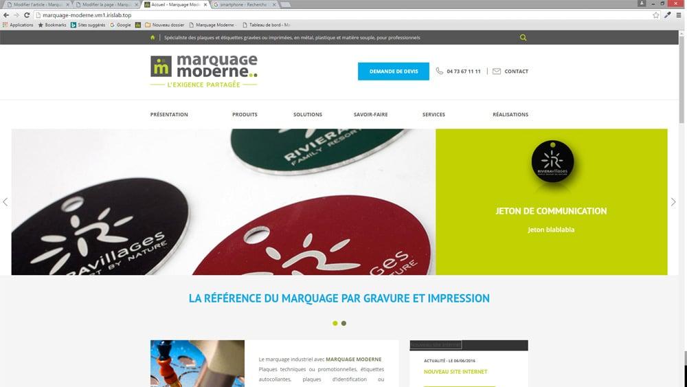 Site web 2016