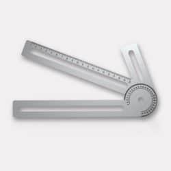 outils de mesure orthopédique en aluminium gravé