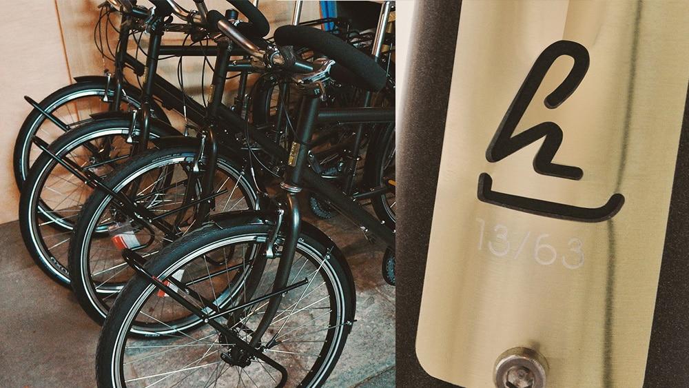 plaques signature pour vélos de luxe