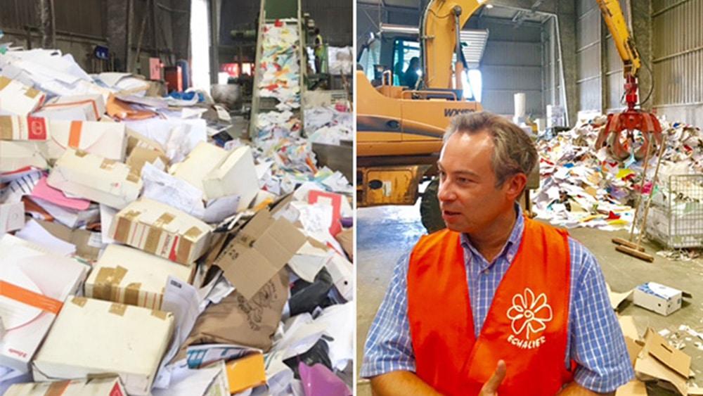 Le recyclage à du bon, d'autant plus quand il permet d'allier tri et confidentialité.