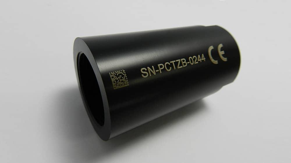 marquage sur pièce plastique par gravure laser