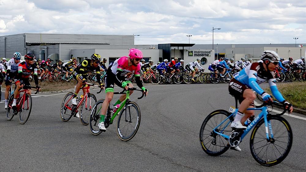 course Paris-Nice, passage à Riom (63)