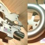 plaque de firme pour pièces industrielles