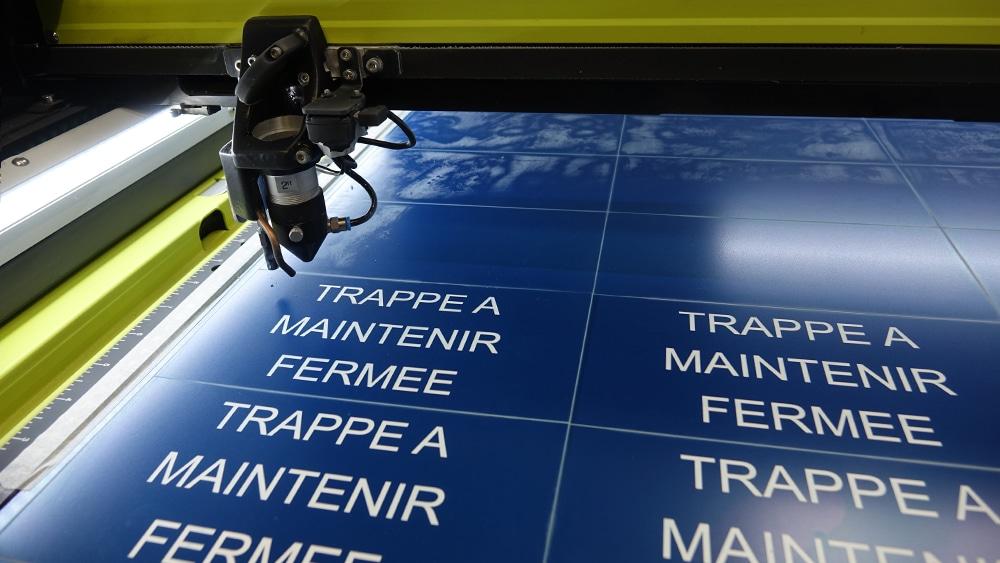 Nouvelles machines de gravure laser