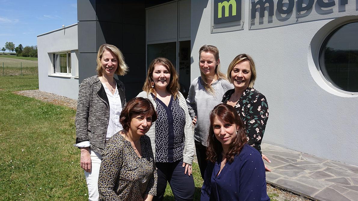 L'équipe commerciale Marquage Moderne